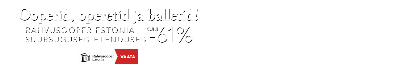 Rahvusooper Estonia -61%
