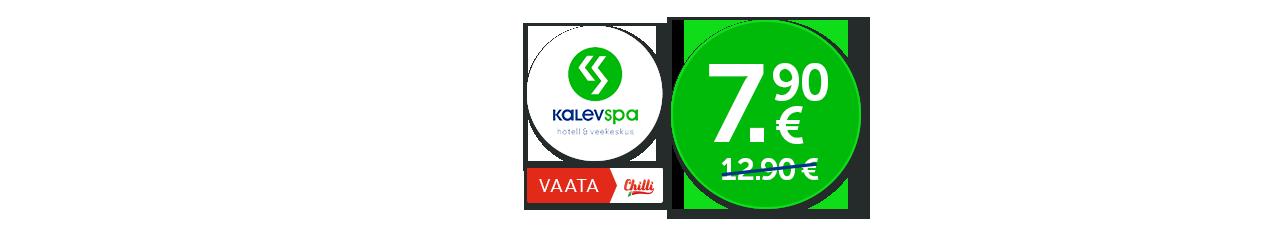 Lõõgastu ja puhka talveväsimusest Kalev Spas! Veekeskuse ja saunade pääse -39%