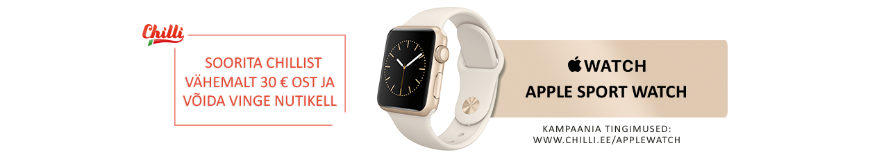 Võida Apple Watch